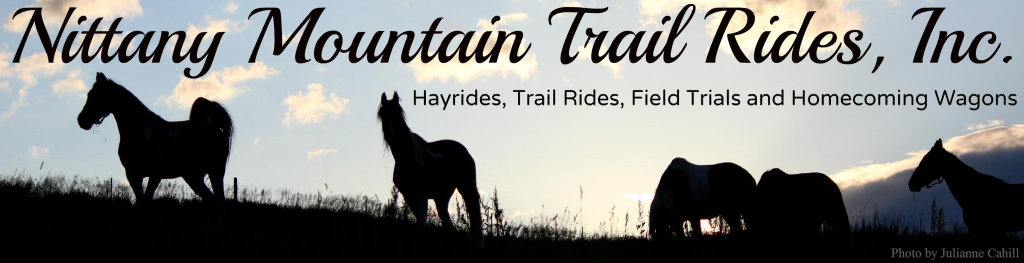 Nittany Mountain Trail Rides, Hayrides, Field Trails and Homecoming Wagons Lewiston Pennsylvania